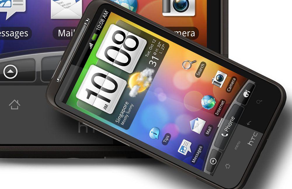 HTC Desire HD får Gingerbread