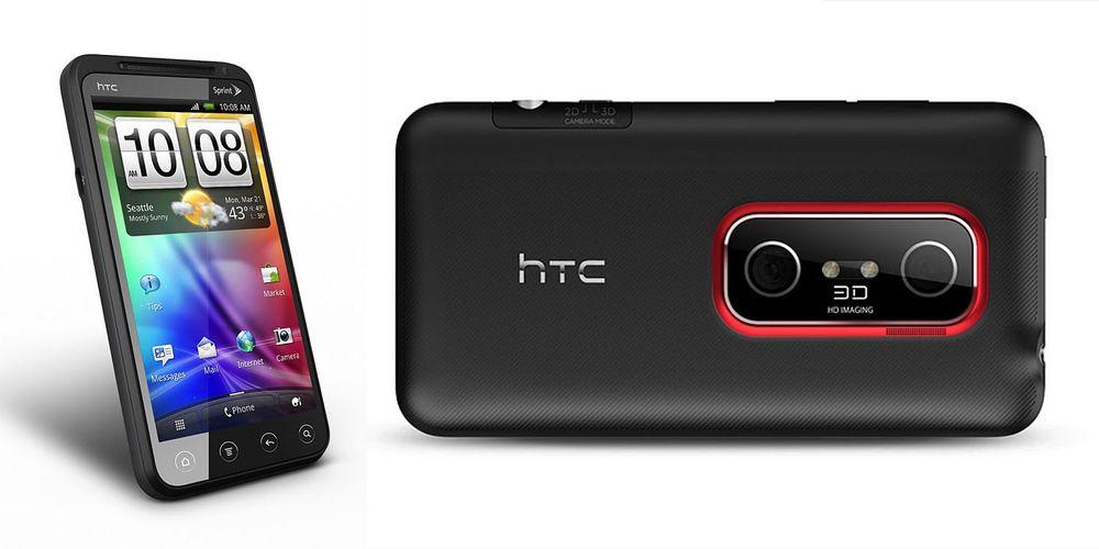 HTC Evo 3D kommer til Europa