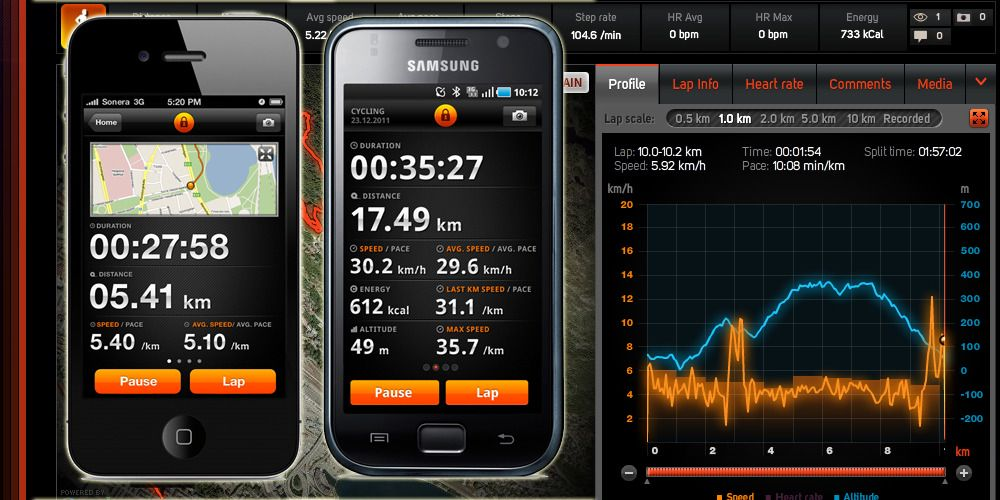 Sports Tracker straks klar for Android og iPhone