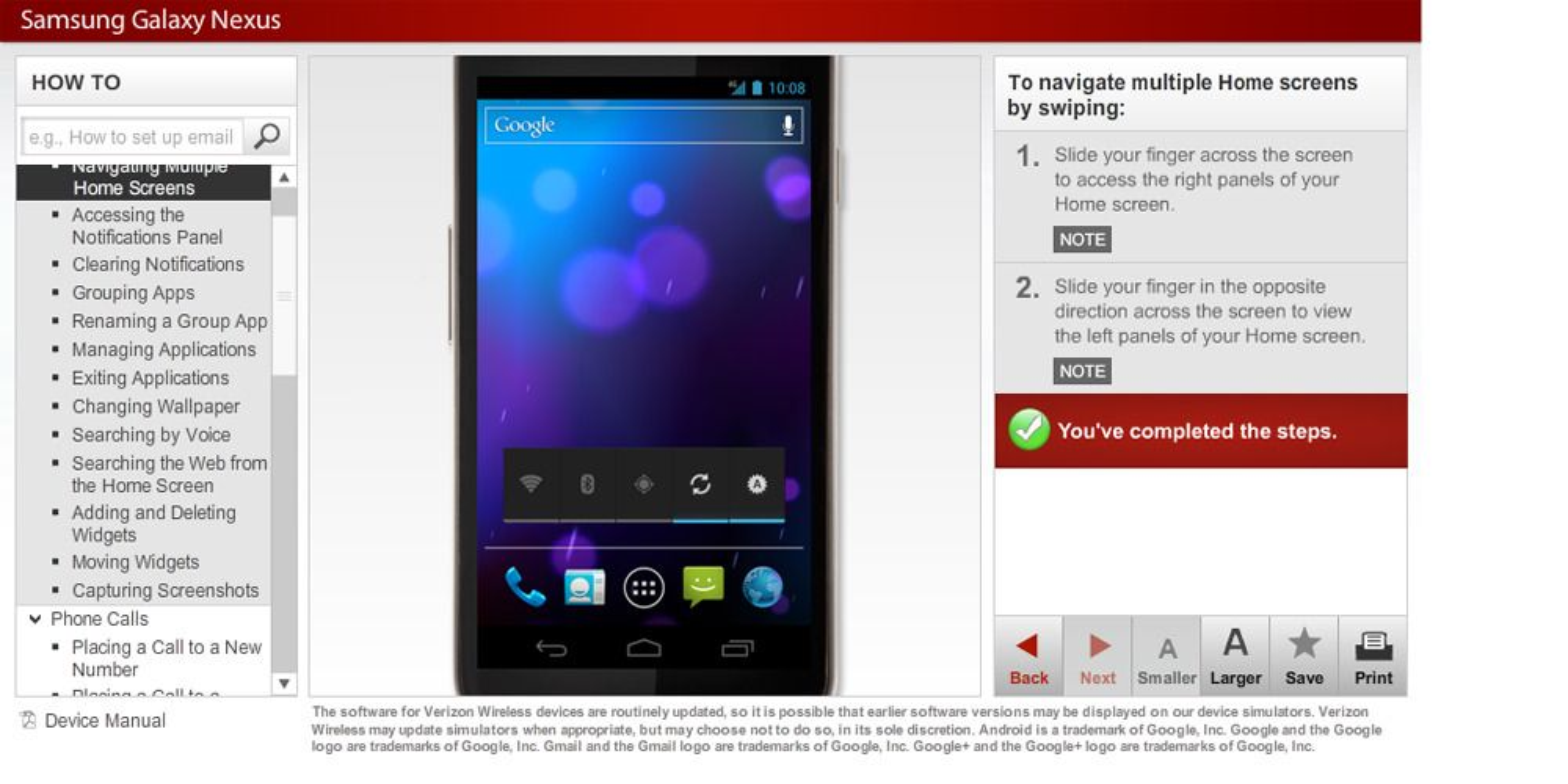 "Nå kan du ""prøve"" Galaxy Nexus"