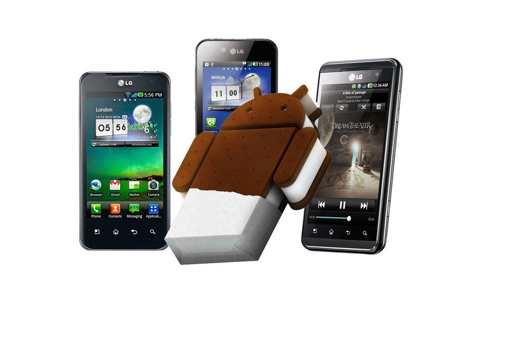 Disse LG-mobilene får Android 4.0