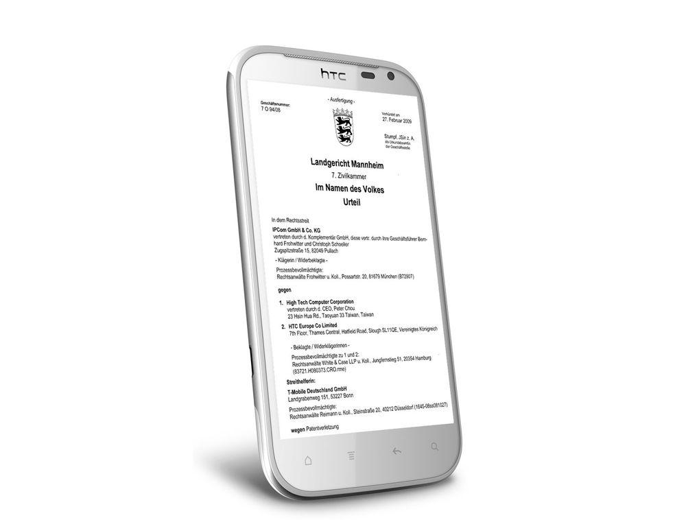 HTC kan nektes å selge telefoner