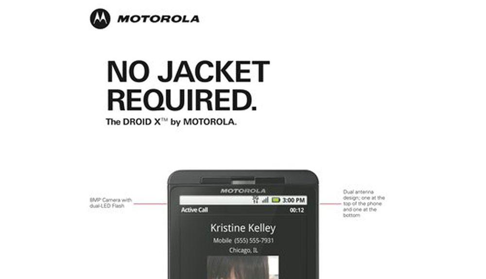 Motorolas tur til å disse iPhone 4