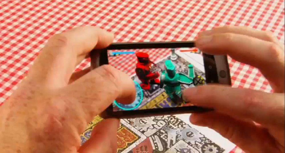 Utøv virtuell vold med mobilen