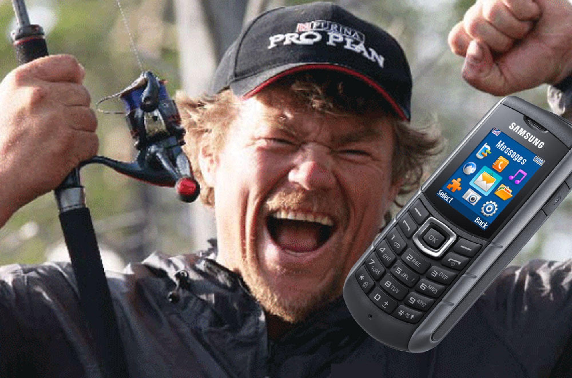 Endelig en mobil for Lars Monsen