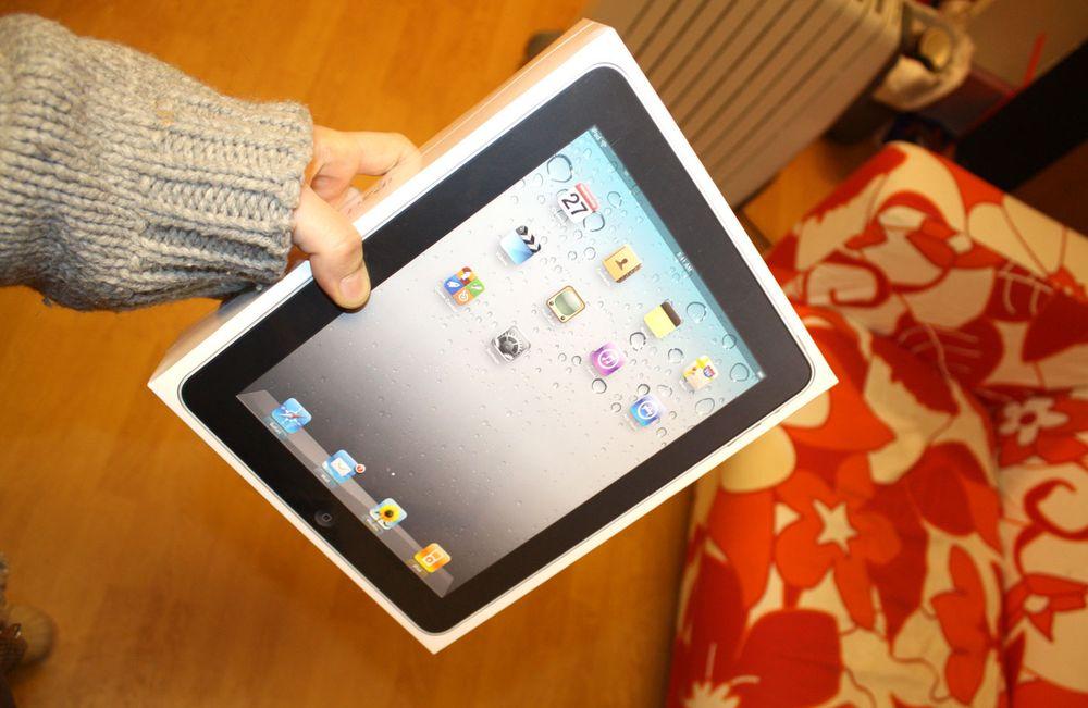 Vinn denne flunkende nye iPad-en!
