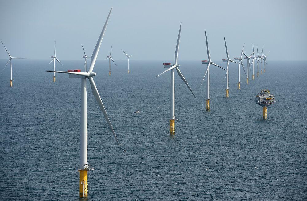 Statkrafts nye havvindpark Triton Knoll vil ligge i samme område som Sheringham Shoal, utenfor den britiske kysten.