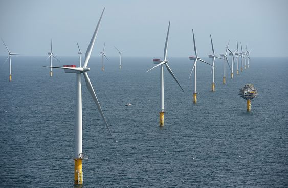 Sheringham Shoal Offshore Wind Farmhavmøllevindmølle