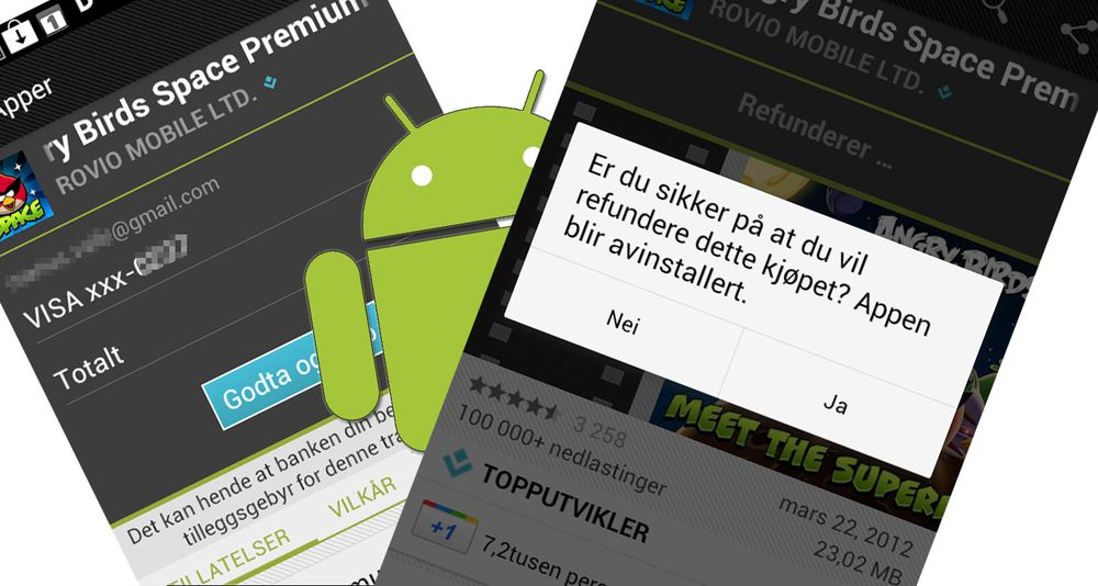 Slik prøver du Android-apper før du kjøper