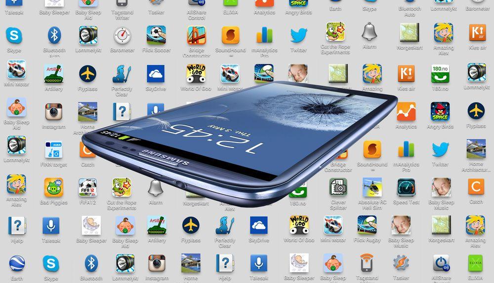 Slik rensker du opp på Android-telefonen din