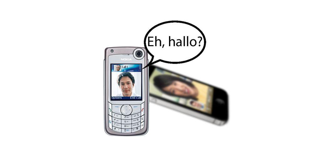 iPhone 4: Si hallo til 2005