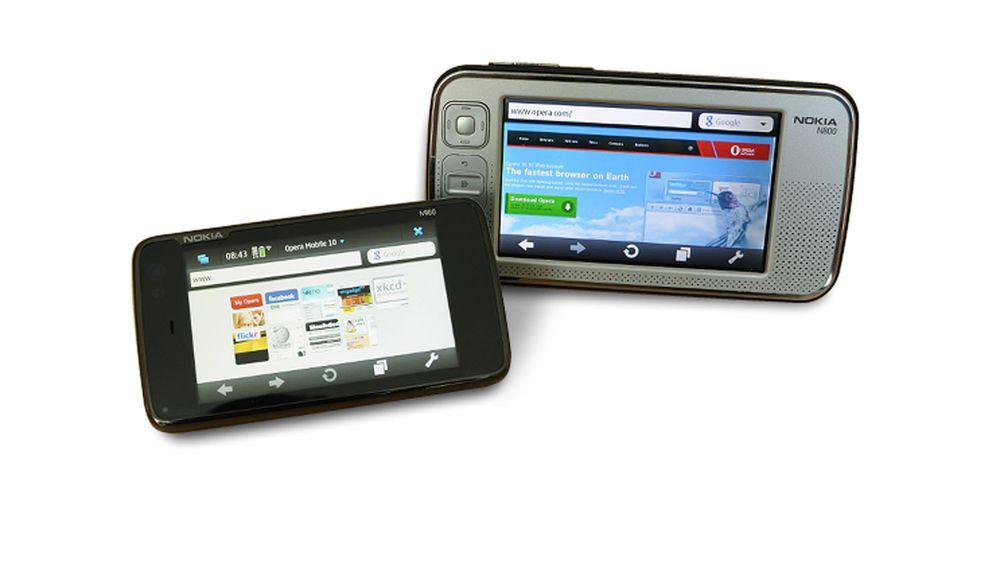 Få Opera på Nokia N900