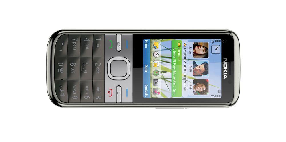 Nokia lanserer C5