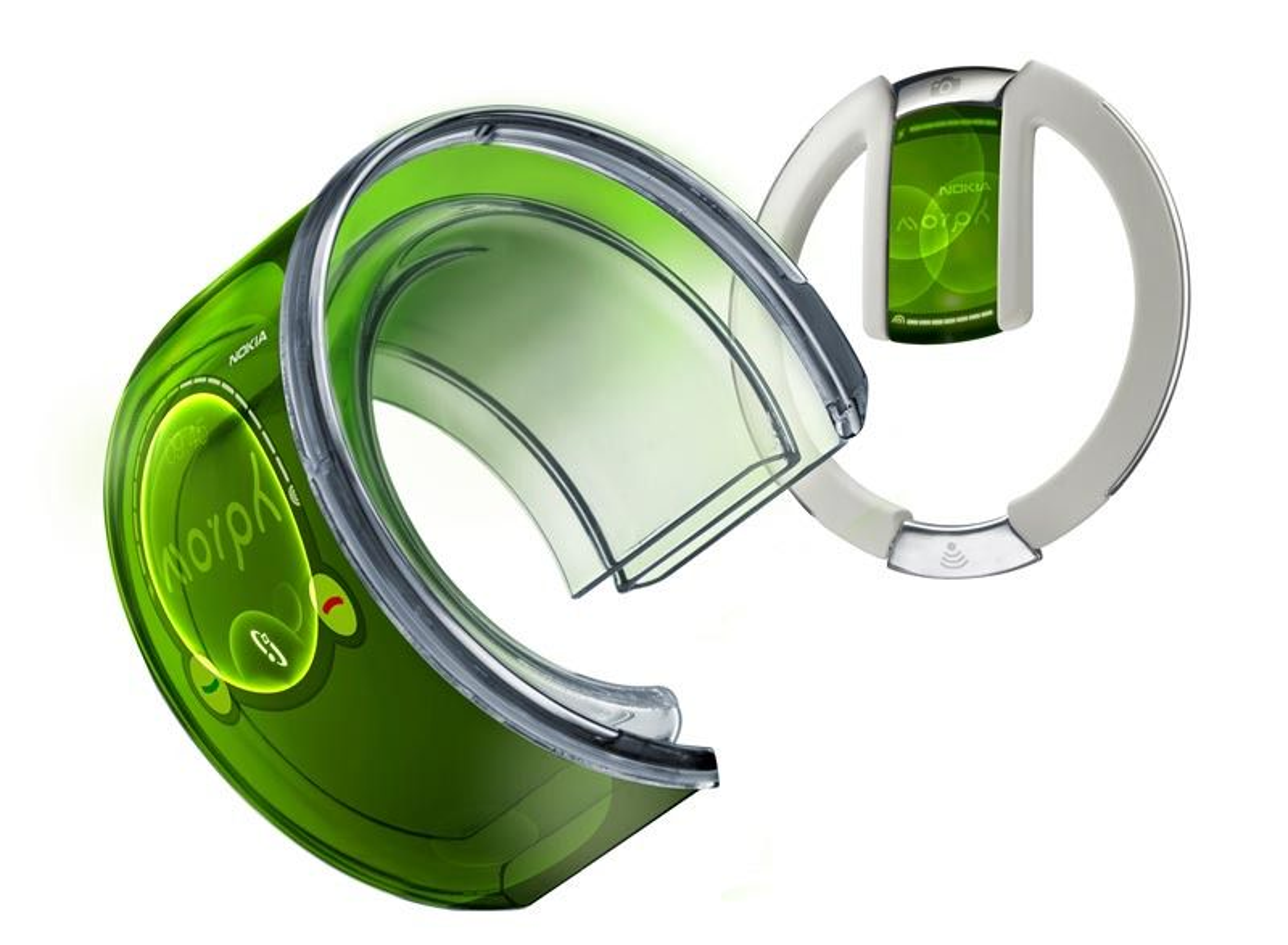 """Nokia gjør alvor av """"bøyelige telefoner"""""""
