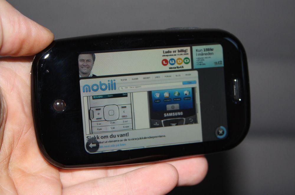 I mars kan du betale for Palm-programmer