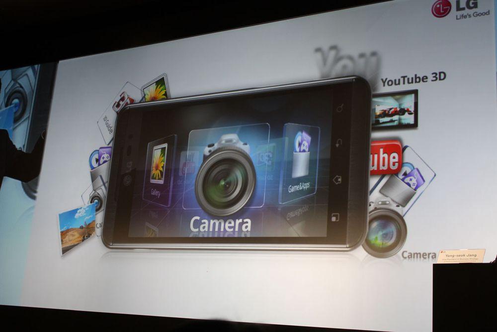 LG lanserer Optimus 3D og Pad