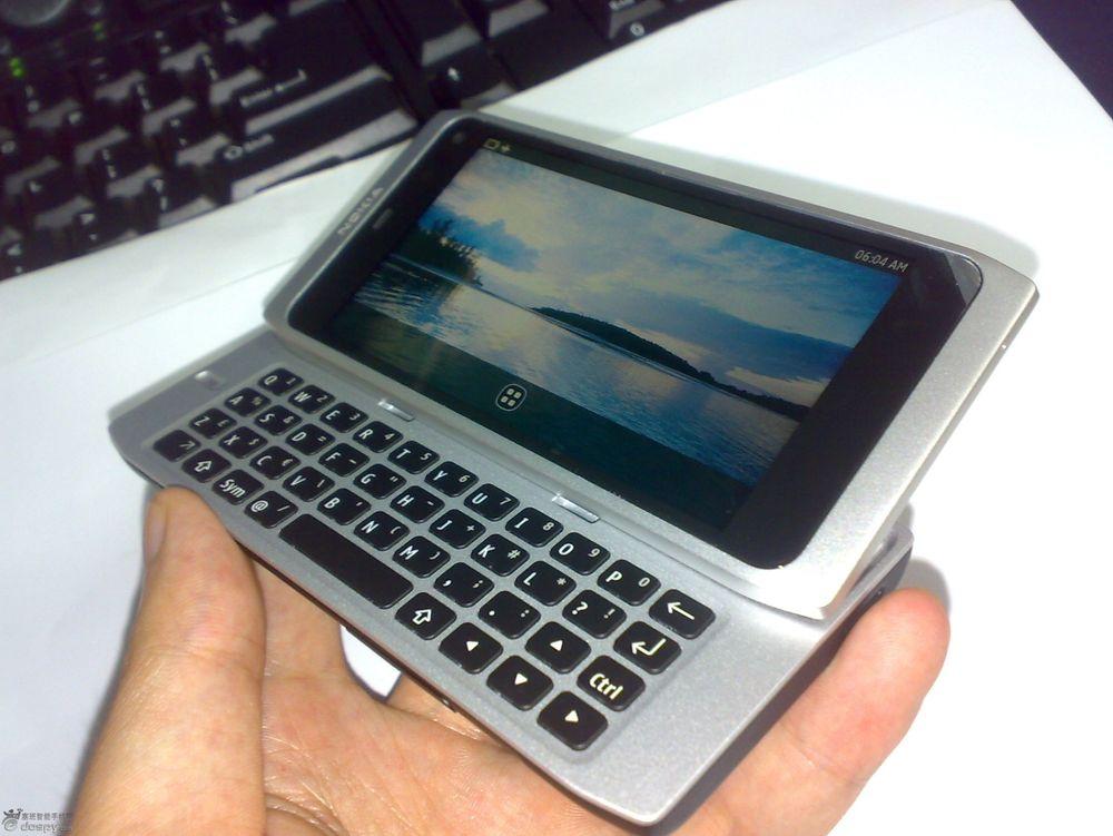 Dette kan være Nokias MeeGo-råskinn