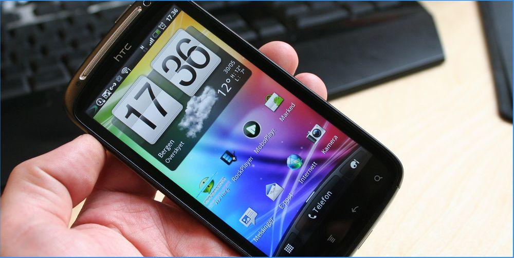 TEST: Test av HTC Sensation