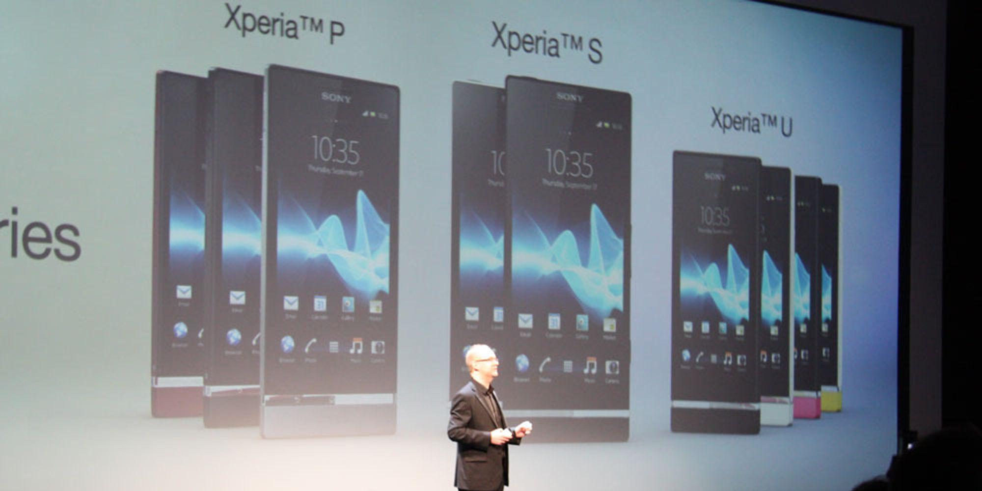 Sony har lansert Xperia P og Xperia U