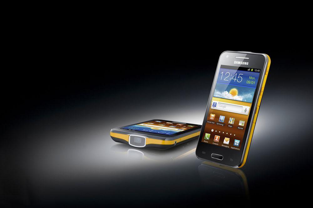 Samsung lanserer mobil med projektor