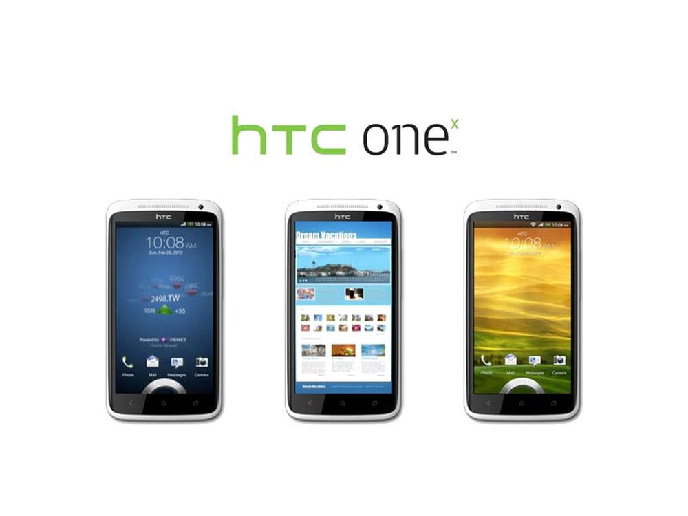Her er HTC One X