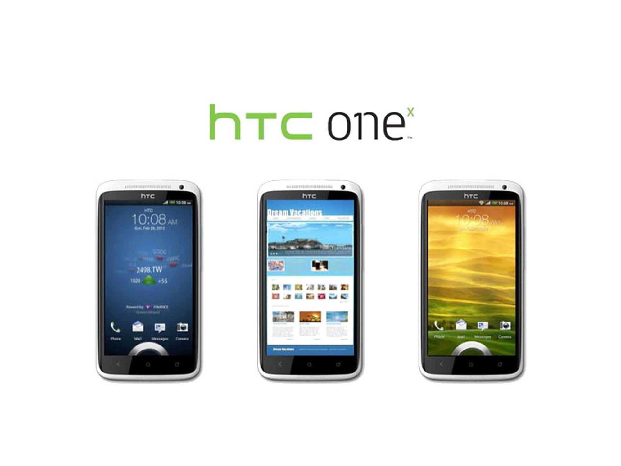 Her er HTC One X