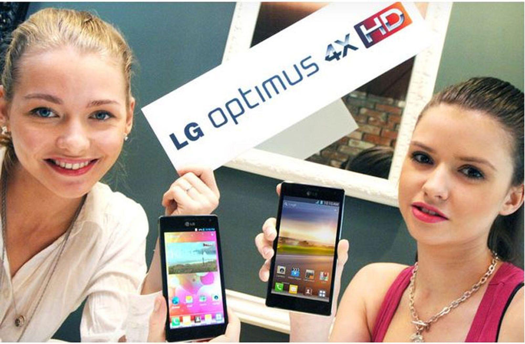 LG lanserer Optimus 4X HD