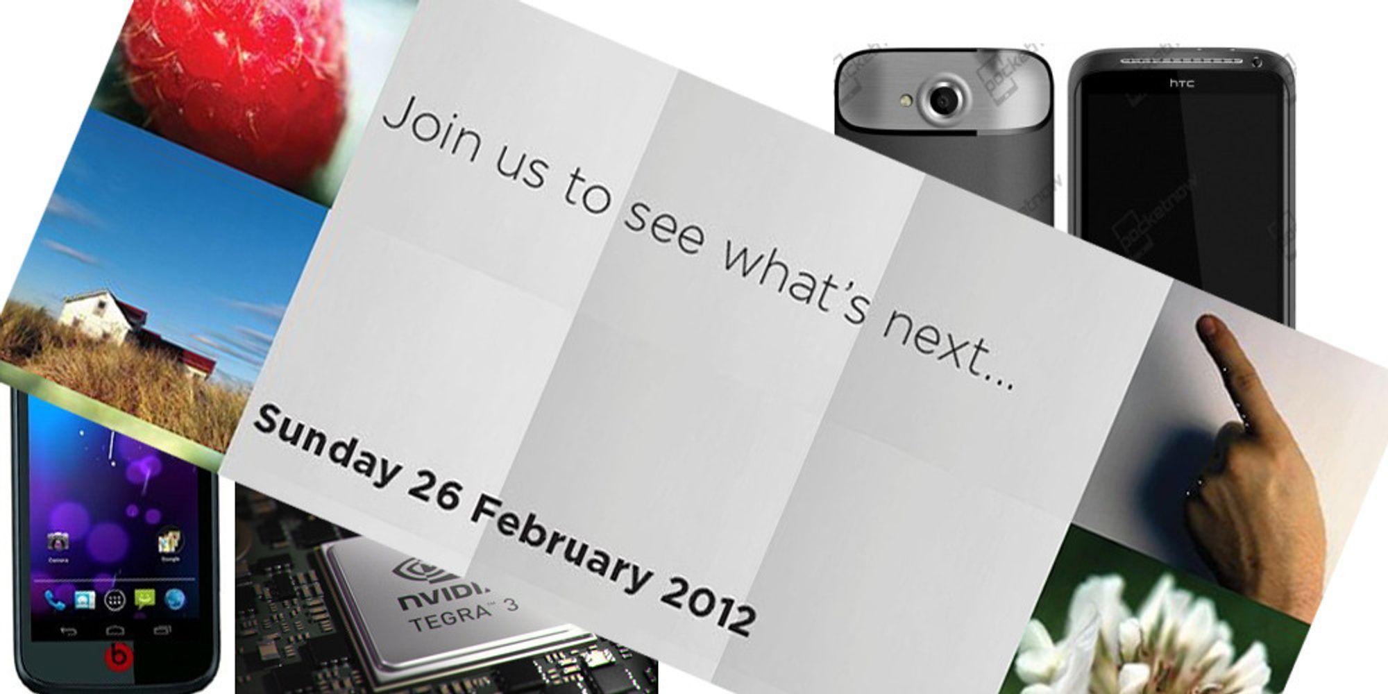 Minst tre nye HTC-telefoner
