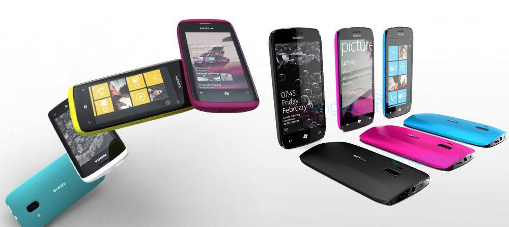 Nokia Lumia 610 avslørt