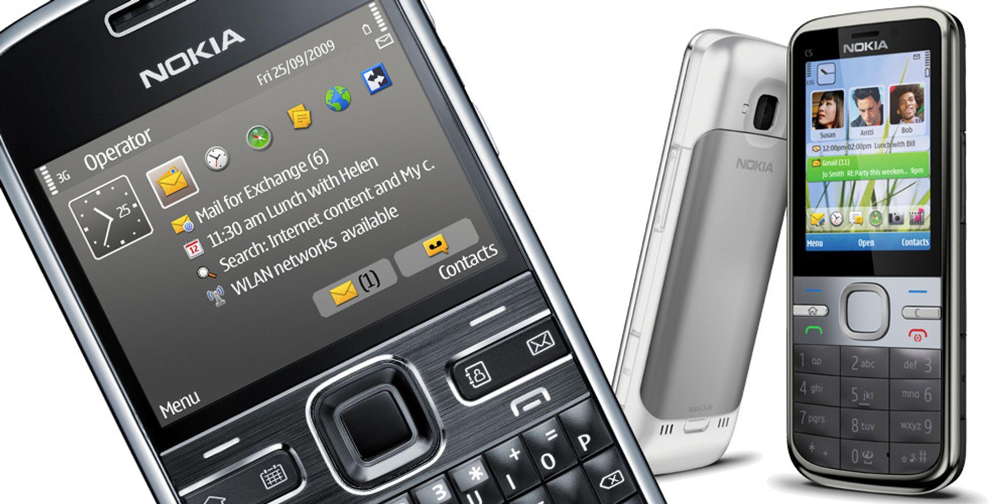 Nokia oppgraderer gamle konger