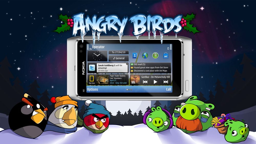 AngryBirds Seasons klart til Symbian