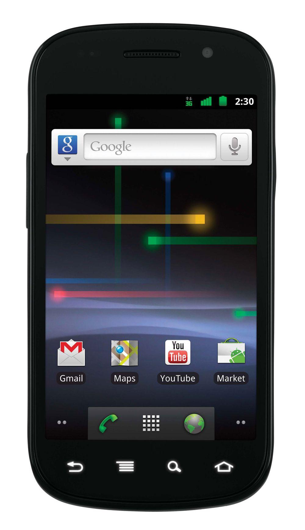 Slik er Nexus S