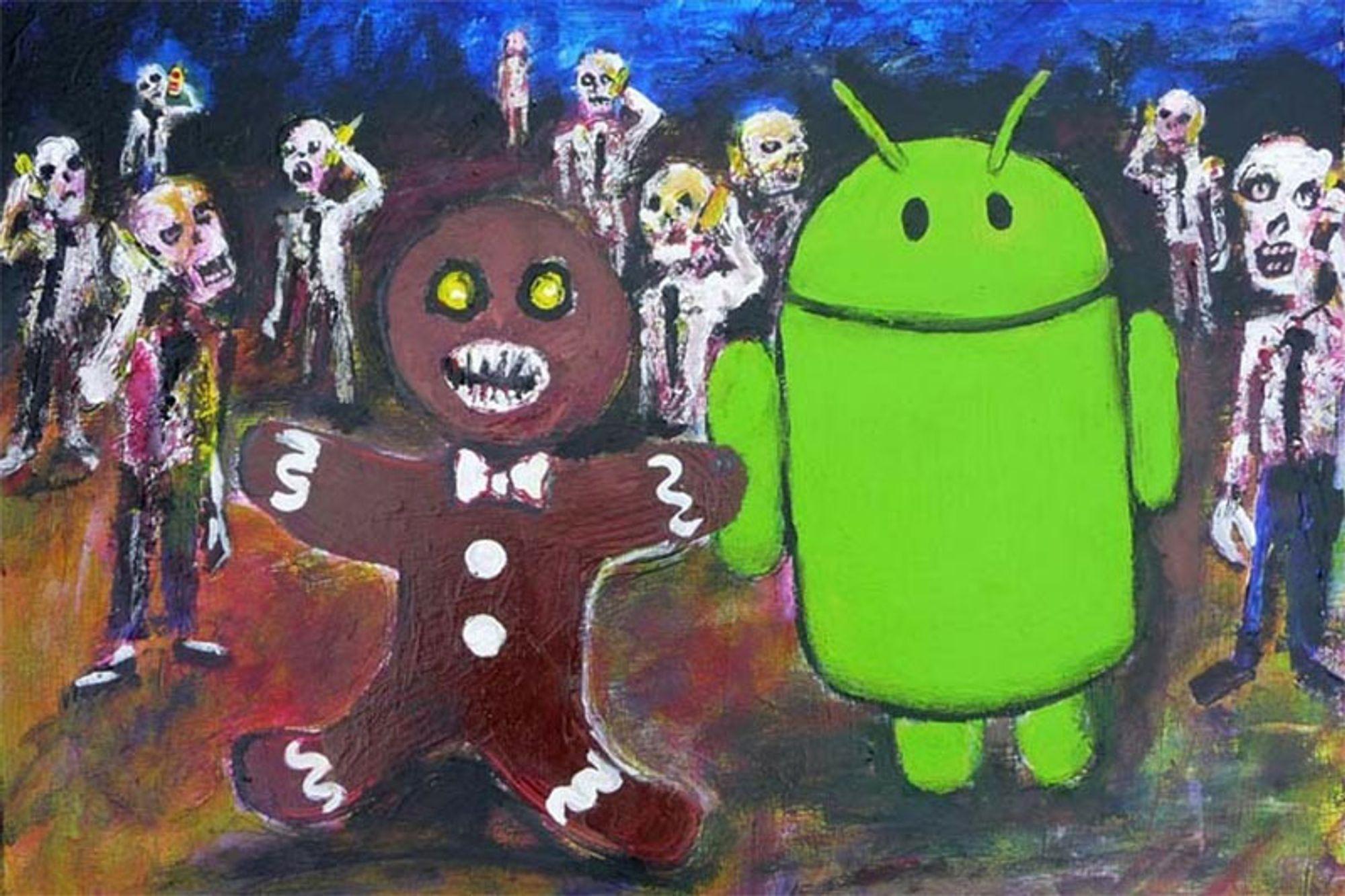 Android 4.0-andelen øker
