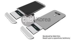 Konseptskisse av LG G5.