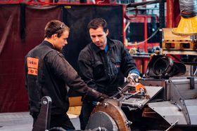 Investering å nytt og moderne produksjonsutstyr har bidratt til å øke produksjonen kraftig.