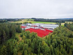 Bedriften ved Bøverbu på Toten syselsetter totalt 33 ansatte.