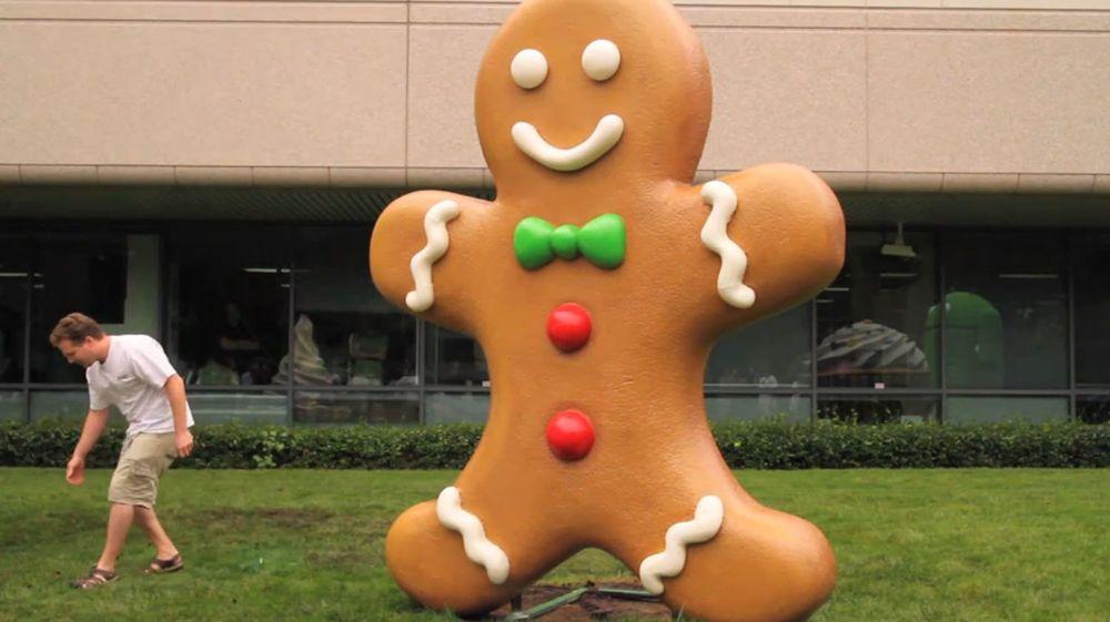 Slippes Android Gingerbread i desember?