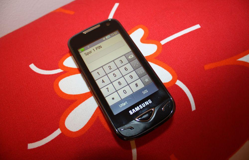 Nå tester vi: Samsung B7722