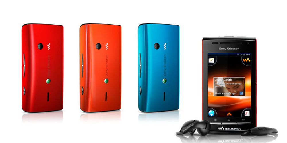 Sony Ericsson lanserer W8