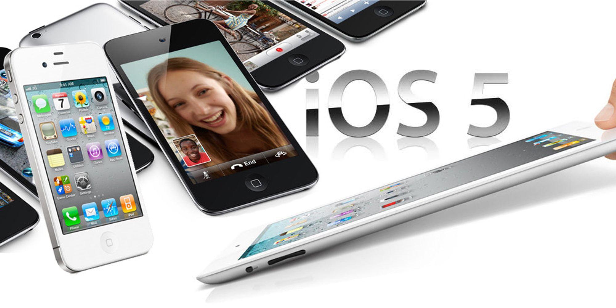 Dette er nytt i iOS 5.1