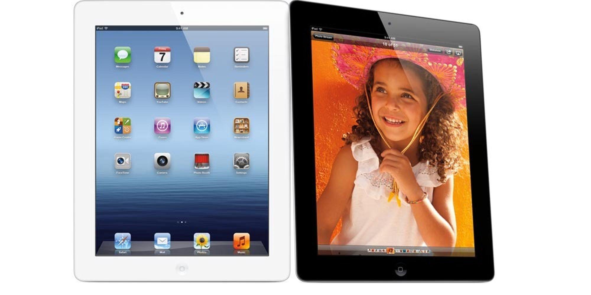 iPad 3 er lansert