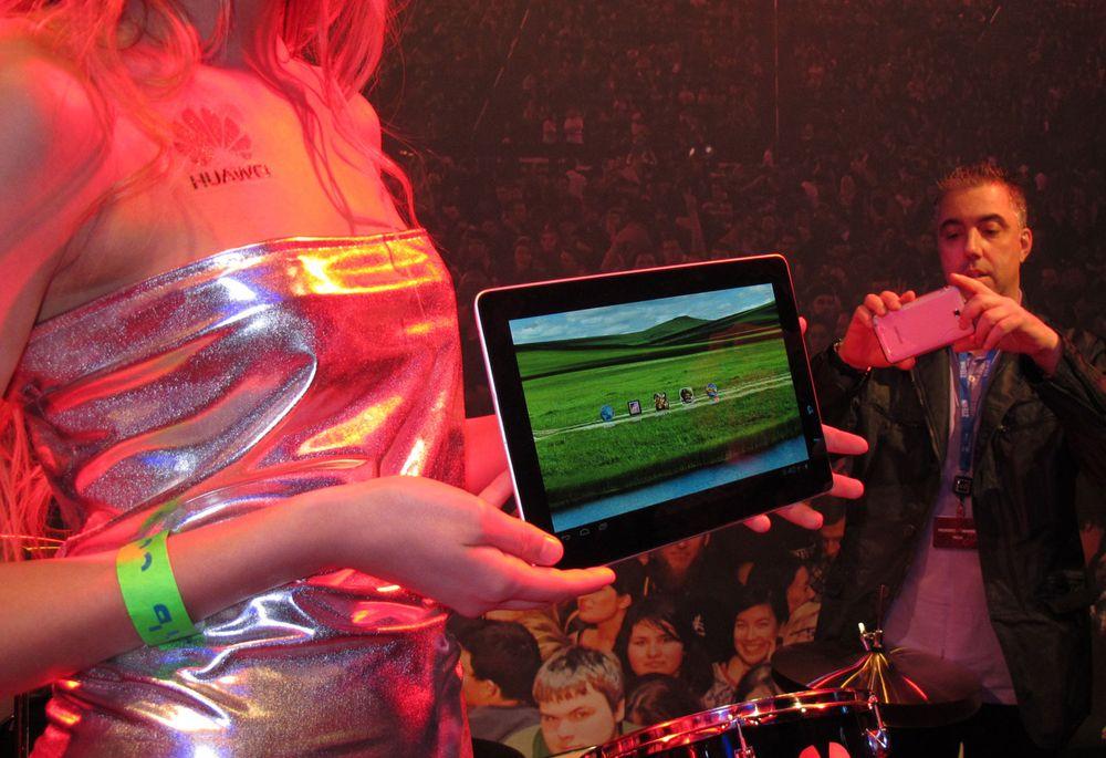 Huaweis tablet har full HD-skjerm