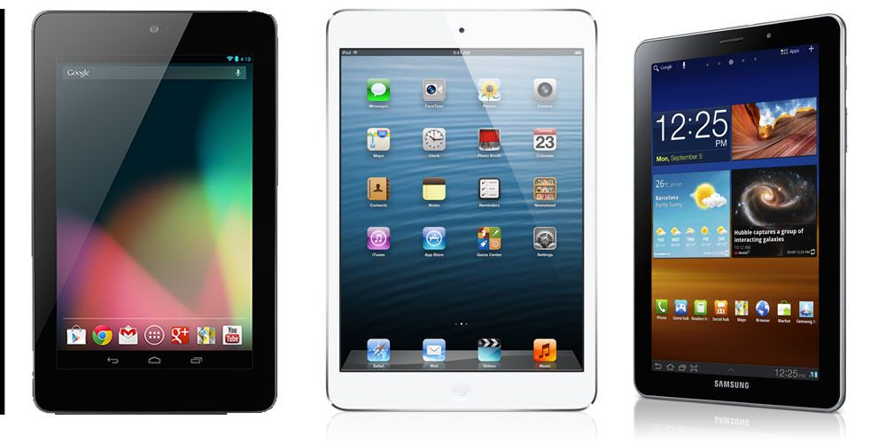 iPad mini, Galaxy Tab 7.7 eller Nexus 7?