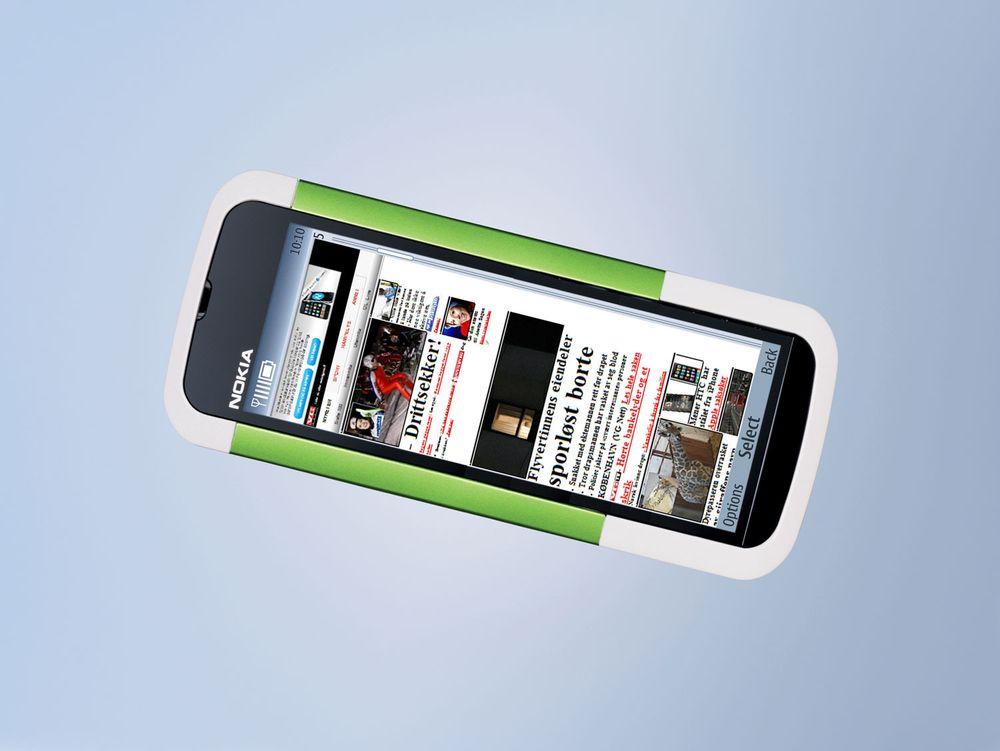 Nokia S40 med trykkskjerm - It's alive