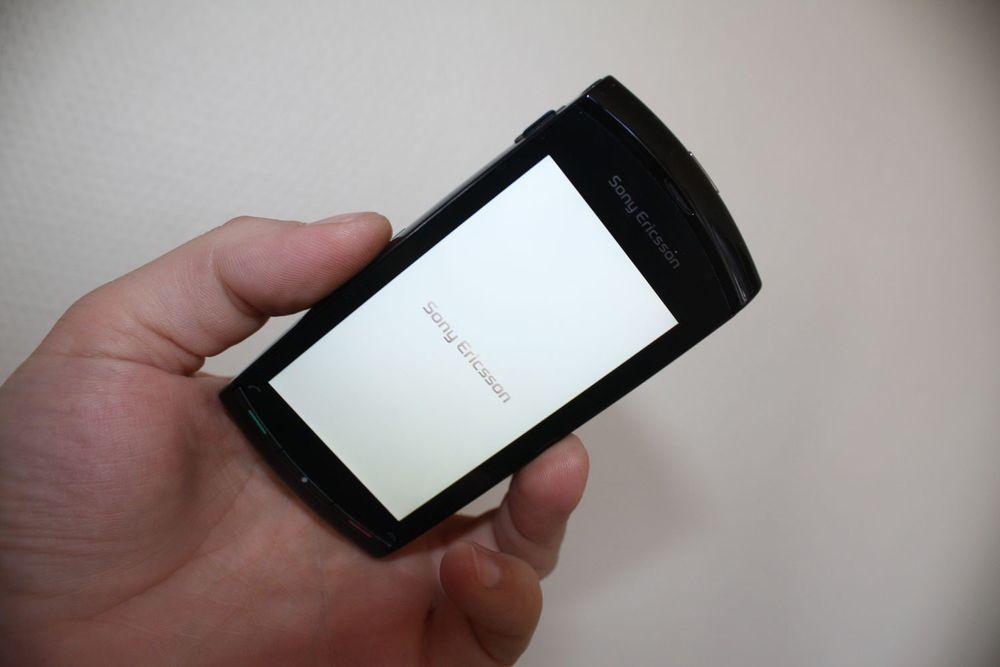 Vi unboxer Sony Ericsson Vivaz