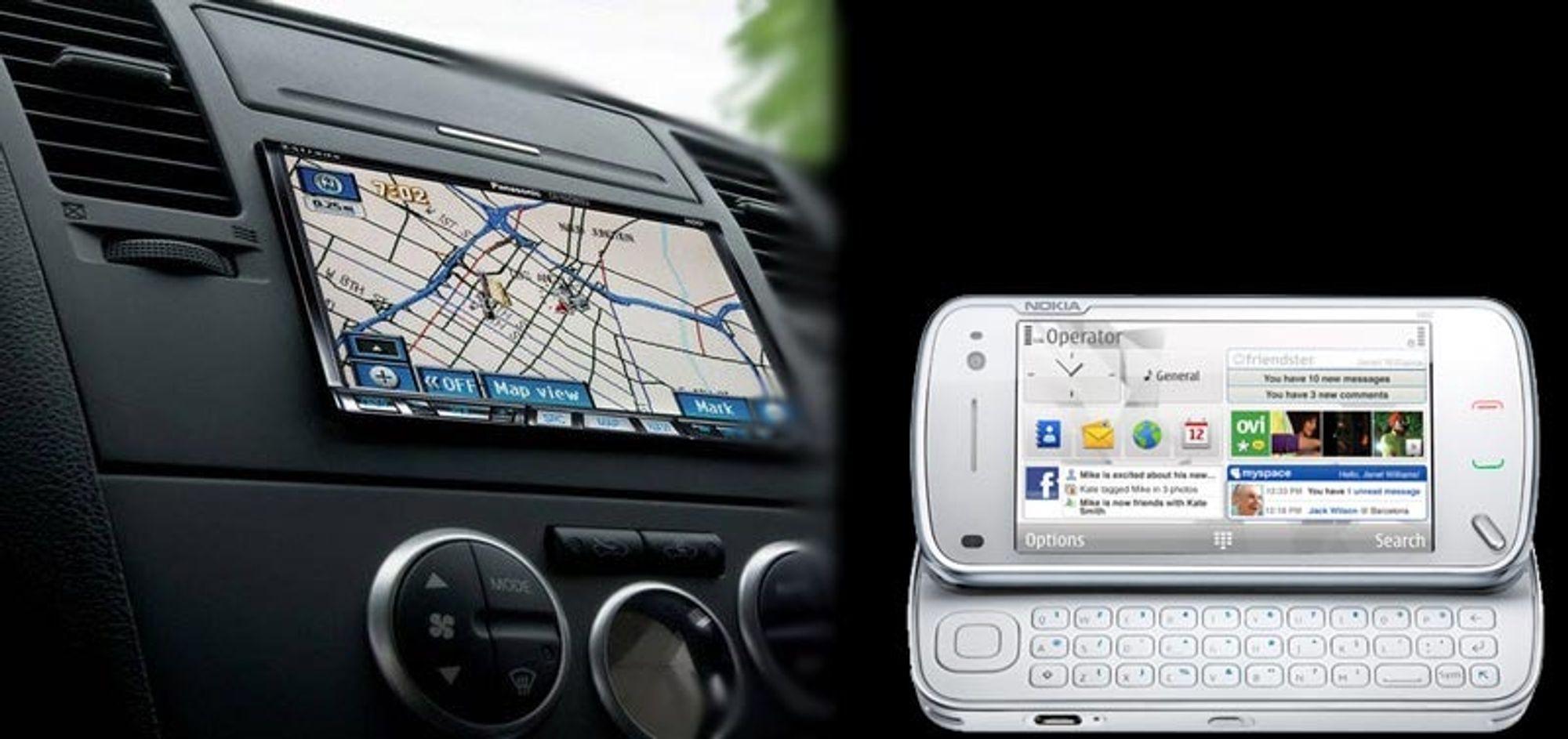 Nokia vil inn i bilen