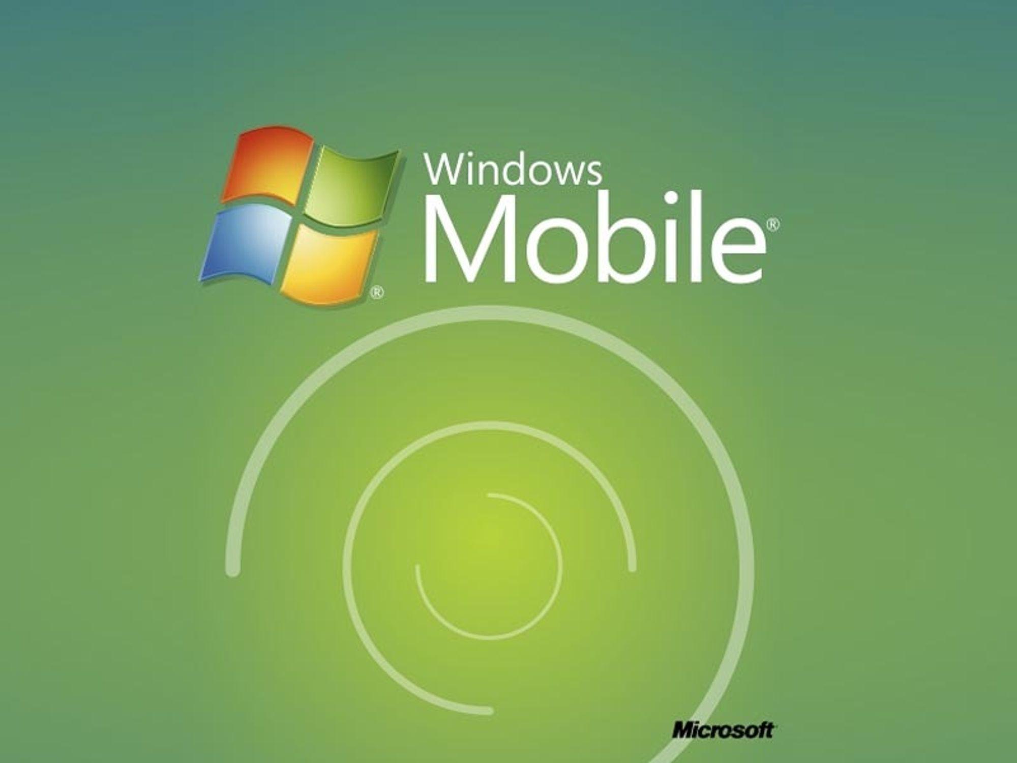 Windows Mobile 7-detaljer om to uker