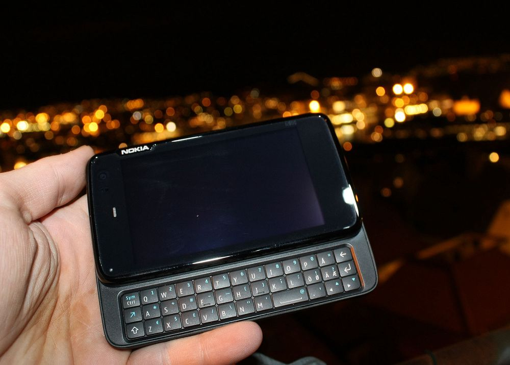 Nokia N900 oppdateres