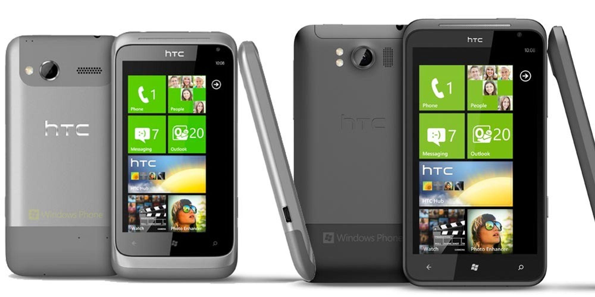 HTC lanserer Titan og Radar