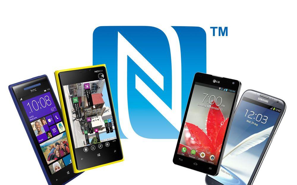Disse telefonene har NFC